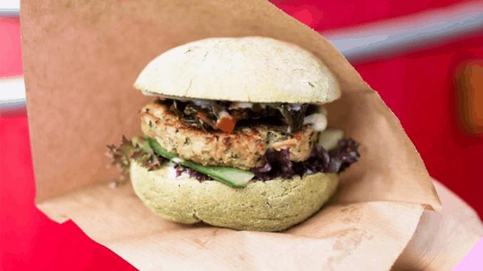 The Dutch Weedburger seaweed burger