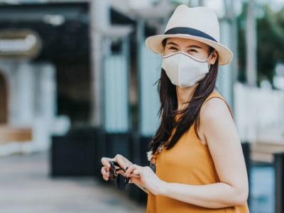 coffee mask female model AirX