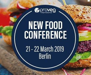 New Food Conference 21-22 March 2019 Berlin