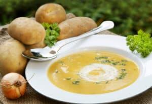 Kartoffelcremesuppe