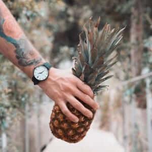 Dan & Méz, vegane Uhren, Ananasleder, Graz, Österreich