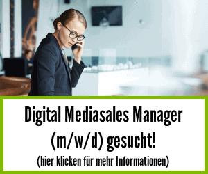 vegconomist - Digital Mediasales Manager gesucht