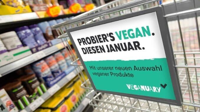 veganuary einzelhandel