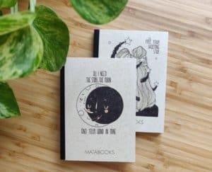 vegane Bücher aus Graspapier