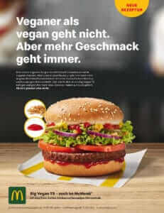mcdonalds big vegan ts
