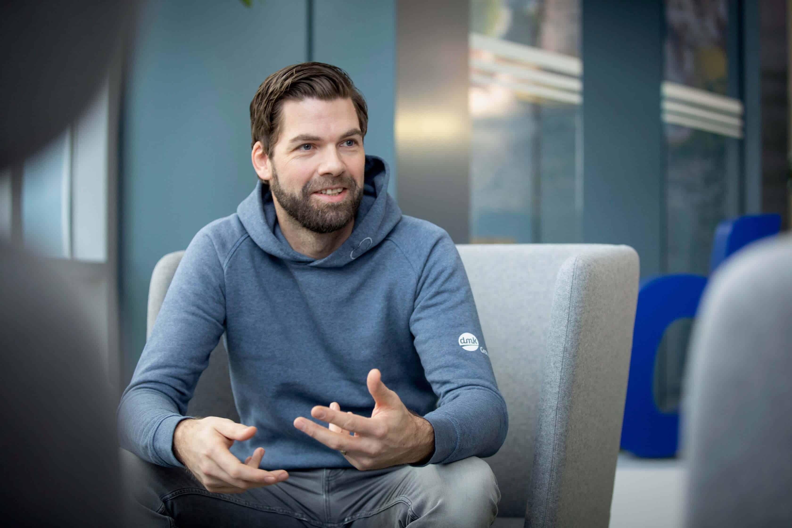 Oliver Bartelt, Global Head of Corporate Communications DMK Group