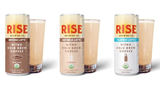 Rise Brewing co Getränke