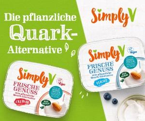 Simply V - Frische Genuss - Die pflanzliche Quark-Alternative - Medium Rectangle