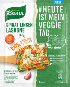 knorr Spinat Linsen Lasagne_FOP