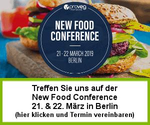Treffen Sie uns auf der New Food Conference
