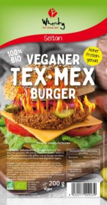 Wheaty Veganer Tex-Mex-Burger