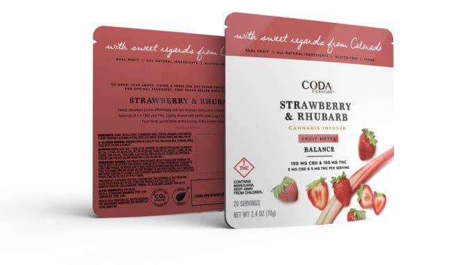 coda signature cannabis product