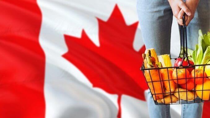 kanada flagge essen