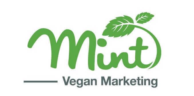 mint vegan marketing logo