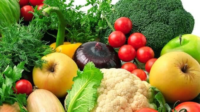obst gemüse früchte ernährung gesund