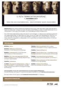 peta flyer