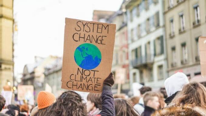 protest system change klime UN demo erde welt