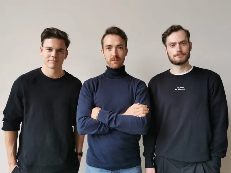Christian Fenner, Thomas Stoffels and Mathias Tholey ©nu company
