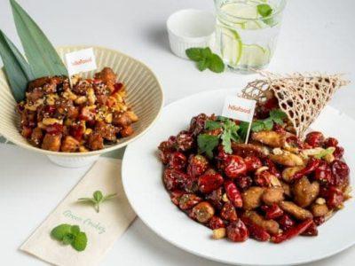 Haofood植物雞肉美食——辣子雞丁(Green Friday餐廳)